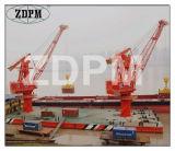Il Portable del cantiere navale Cranes la gru portale del Luffing