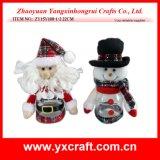 Choc de bonbon à Noël de la décoration de Noël (ZY14Y49-1-2)