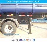 3개의 차축 덤프 팁 주는 사람 세미트레일러 또는 반 덤프 트럭 트레일러
