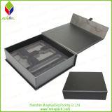 Boîte de bijoux de empaquetage de papier rigide se pliante