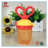 Alimentador fácil del alimento de las verduras frescas del uso con el silicón que mastica el saco para el niño
