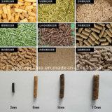 Linha da peletização da alimentação do alimento dos rebanhos animais