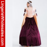 Ферзь причудливый платья партии Halloween люкс женщин Lace-up Costume Египта Cosplay