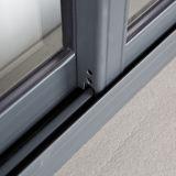 Finestra di scivolamento di alluminio della nuova di disegno Kz103 serratura a mezzaluna rivestita della polvere