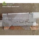 De natuurlijke Steen van de Richel van de Basis van het Cement van de Oppervlakte van de Kleur van de Bekleding van de Muur van de Steen Roestige Gespleten