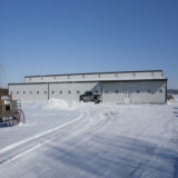 Центр обслуживания самолета ангара структуры металла полуфабрикат от профессионального изготовления