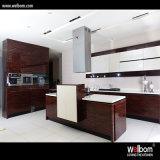 Лоск 2016 горячего сбывания Welbom высокий печет Cabinetry кухни краски