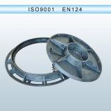 Ferro Ductile ou tampa de câmara de visita à prova d'água do ferro cinzento