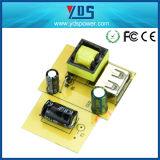 5V 2.1A verdoppeln USB-Wand-Aufladeeinheits-Arten der Telefon-Aufladeeinheiten