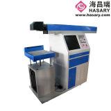 Отметка лазера СО2/машина маркировки для ткани обувают тканье