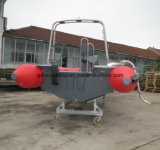 Bote de salvamento de China Aqualand el 19FT/barco del salto de la costilla/barco inflable los 5.8m rígido del coche/bote patrulla militar (RIB580T)