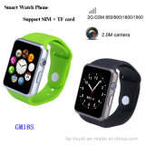 Bluetooth 4.0 Smart Watch Phone avec slot pour carte SIM (GM18S)