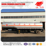 Remorque de camion-citerne aspirateur d'huile de graissage de 37 pieds de longueur