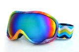 Óculos de proteção do Snowboard dos produtos do esqui do afastamento com a anti cinta do enxerto