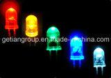 Brightness élevé Colorful 5mm DEL Round Through Hole DEL
