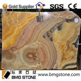 タイルまたは壁のクラッディングのための自然な建築材料の石のオレンジオニックス