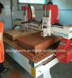 Zwei Köpfe hölzerner CNC-Fräser