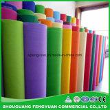 Farbige pp. spannen verpfändetes nicht gesponnenes Gewebe in Rolls/im Hersteller