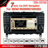 Hualingan Car Multimedia Player Leitor de DVD para Benz Cls W219 DVD Navigation