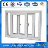 Окно PVC сползая с энергосберегающий