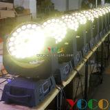 luz principal móvil del disco de DJ de la etapa del zumbido de la colada de 36X10W LED
