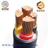 Cabo 25mm de cobre da corrente eléctrica do cabo U1000RO2V 4c 16mm