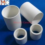 Tubo resistente de alta temperatura 99.7% del alúmina de la alta calidad