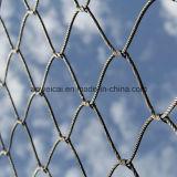 Maglia tessuta della fune metallica di Ss304/316L