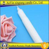 Vela blanca barata de la cera/vela diaria del uso del hogar blanco