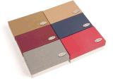 Nuevo Design Paper Gift Box con Logo Stamp