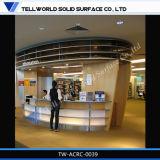 Trunslucent SGSの証明書の人工的な大理石のレセプションのカウンター(TW-021)