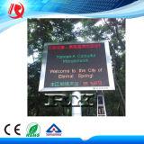 Im Freien programmierbare Baugruppe 320*160mm des Verschieben- der Bildschirmanzeigeled des Zeichen-P10 Rg LED