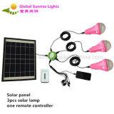 Iluminación casera solar de la salida del sol global solar del kit