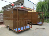 الصين, وجبة خفيفة, [فست فوود], مقصورة. يبيع, أطعمة متحرّك مقطورة, عربة