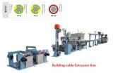Chaîne de production de câble de fil de construction de Lsoh Antiflaming machine d'extrusion