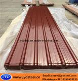 Tetto d'acciaio rivestito Sheet/PPGI di colore ondulato