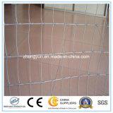 Градуированная стальная загородка ячеистой сети завязанная животная