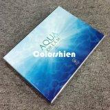 Rectángulo de regalo azul cosmético asombroso de la visualización del embalaje del perfume