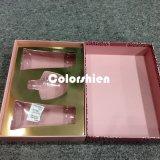Rectángulo de regalo de papel de la visualización del embalaje de Cosmtic de la impresión de la alta calidad