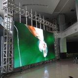 Afficheur LED de haute résolution de pilier de matériel innovateur d'intérieur de médias numériques de P5s grand