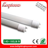 110lm/W 0.6m 10W LED T8 léger, garantie 2years