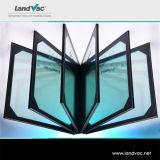 Brique de verre trempé de vide poussé de Landvac utilisée dans les constructions en verre de mur rideau