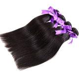 درجة [7ا] عذراء يحزم [ستريغت هير] [برزيلين] طبيعيّ سوداء [برزيلين] عذراء شعر نعمة مستقيمة [ستريغت هير]