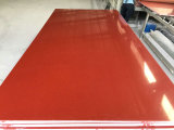 China-rote Farben-Quarz-Großhandelsplatte