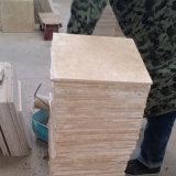 Tegel van de Travertijn van het Kalksteen van China de Beige voor het Bedekken van het Zwembad