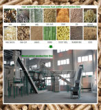 Riga di legno della compressa della segatura della biomassa con CE