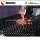 Programable IP65 Templado Cristal Interactivo LED Dance Floor