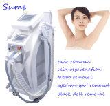 Máquina permanente da beleza da remoção do tatuagem do laser do levantamento de face YAG do RF do rejuvenescimento da pele da remoção do cabelo
