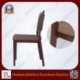 Nahe Gz Fabrik-gute Qualitätsaluminiumgewebe gepolsterter Esszimmer-Stuhl (BH-FM8018)