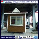 Protetor portátil claro Prefab Watchhouse da construção de aço